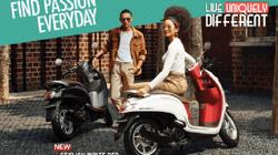 Ra mắt Honda Scoopy màu đỏ trắng thời thượng, giá chỉ 40 triệu đồng