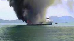 Video: Siêu du thuyền 5 triệu USD bị thiêu rụi khi neo ở Thái Lan