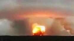Nổ kho đạn trong căn cứ quân sự ở Nga gây ra cột khói che kín một vùng trời