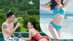 Body nóng bỏng của 2 cô bồ sao nam hot nhất màn ảnh Việt