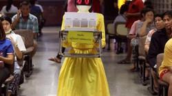 Bệnh viện sử dụng robot làm y tá ở Thái Lan