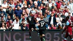 "Man City ""thảm sát"" West Ham trong ngày ra quân Premier League"