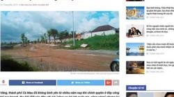 Đề nghị xử lý trang web đăng thông tin sai sự thật về Chủ tịch tỉnh Cà Mau