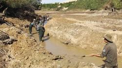Quảng Trị xả hồ thủy lợi giải quyết tình trạng thiếu nước sinh hoạt