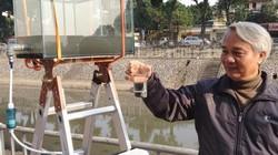 Chuyên gia Việt kể chuyện xử lý nước sông Tô Lịch sạch đến mức uống được