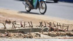 ẢNH: Tử thần rình rập trên đường Phạm Văn Đồng, Hà Nội