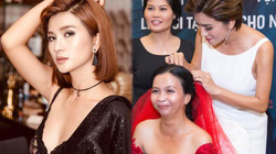 'Nữ hoàng cảnh nóng' phim Việt tham gia tổ chức lễ cưới cho 41 cặp đôi khuyết tật