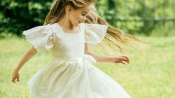 Váy trắng: Tuyệt tác Haute Couture của thời ấu thơ