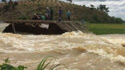 Đoạn đê bị vỡ ở Đắk Lắk không có trong dự án sửa chữa
