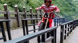 Thanh niên chinh phục gần 1.000 bậc thang với tốc độ chỉ 1 phút