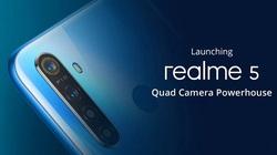 Thiết kế và thông số kỹ thuật chính của Realme 5, 5 Pro được tiết lộ