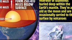 Phát hiện mỏ kim cương khổng lồ chưa rõ giới hạn hàng tỉ năm tuổi, sâu 400km
