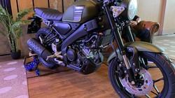 Ảnh chi tiết Yamaha XSR155 hoành tráng thế này, bảo sao Honda CB150R nể