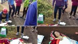 Vụ sản phụ bị bỏ rơi giữa đường, trẻ sơ sinh tử vong: Công an làm việc với tài xế