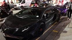 """Người mẫu Nga đi siêu xe Lamborghini phủ 2 triệu viên pha lê """"náo loạn"""" London"""