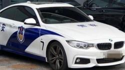 Xe cảnh sát Trung Quốc xuất hiện trên đường phố Úc gây ngỡ ngàng