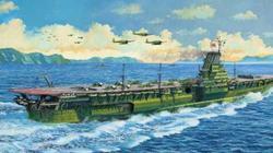 Tàu sân bay lớn nhất thế giới của Nhật bị Mỹ đánh chìm, hơn 1.400 người quyết ở lại cùng chết