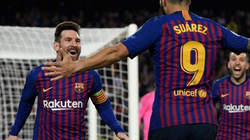 Đấu Real Betis, Barcelona gặp tin dữ từ Suarez và Messi