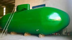 Hé lộ màu sơn bắt mắt của tàu  ngầm Trường Sa 2