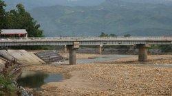 Ngòi Thia - cây cầu từng bị lũ cuốn sập đã được sửa chữa xong
