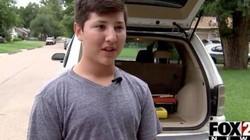 Cậu bé 12 tuổi nhanh trí đập vỡ kính ô tô cứu bé 2 tuổi bị bỏ quên