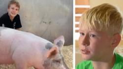 2 cậu bé bán lợn quyên góp hàng chục nghìn đô cứu bệnh nhi ung thư