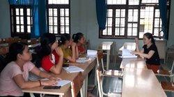Quảng Trị: Một khoa chỉ có 4 sinh viên