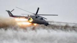 """Xem trực thăng tấn công Nga bắn """"mưa đạn"""" diệt khủng bố ở Syria"""