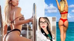 Nữ bác sĩ có vòng 3 nóng bỏng nhất nước Pháp khiến fan khao khát