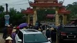Vụ dân vây côn đồ phá cổng làng: Tạm giữ xe sang Lexus biển 299.99