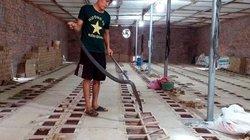 Làng phát tài nuôi loài rắn cực độc, ăn ít, ngủ nhiều, dài cả mét