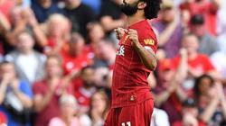 """Mohamed Salah """"lên thần"""", Liverpool đè bẹp Arsenal"""