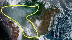 Ảnh vệ tinh cho thấy mức độ tàn phá khủng khiếp của cháy rừng ở Amazon