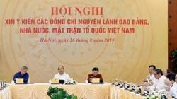 Ông Trần Đức Lương, Nguyễn Tấn Dũng và nhiều vị nguyên lãnh đạo dự hội nghị xin ý kiến
