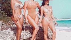 Kim Kardashian khuấy động mốt áo tắm màu nude