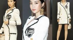 Đỗ Mỹ Linh mặc vest giấu quần không nóng bỏng bằng Hương Tràm, Bảo Thy...