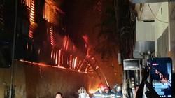 Cháy dữ dội tại Công ty Bóng đèn Rạng Đông: Sơ tán dân ở lân cận