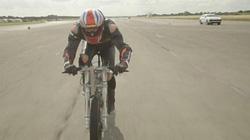 Tay đua chạy xe đạp in 3D đạt tốc độ 280 km/h lập kỷ lục thế giới