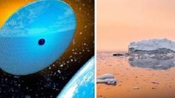 Đặt hàng ngàn tấm gương khổng lồ trong vũ trụ ngăn Trái đất ấm lên?