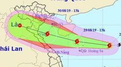 Tin bão số 4 tối 29/8: Mạnh cấp 9 giật cấp 11 cách đất liền 170km