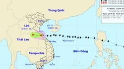 MỚI: Bão số 4 đổ bộ vào đất liền, suy yếu thành áp thấp nhiệt đới