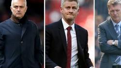 Thống kê gây choáng về Solskjaer so với Mourinho và David Moyes