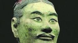 Chiến binh đất nung màu xanh kỳ lạ nhất trong lăng mộ Tần Thủy Hoàng