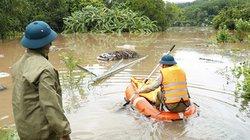 Nước lũ dâng cao, nhiều thôn bản vùng cao tỉnh Quảng Ninh bị cô lập