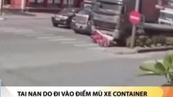 Lái xe máy chết thảm khi chen vào phía trước xe đầu kéo