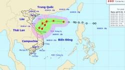 TIN MỚI: Áp thấp nhiệt đới sẽ mạnh lên thành bão vào miền Trung