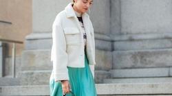4 lý do nên mặc màu trắng mùa mát