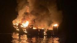 Mỹ: Du thuyền giữa đêm bốc cháy kinh hoàng trên biển, 25 người thiệt mạng