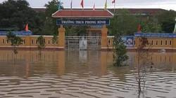 TT-Huế: Một người thiệt mạng, hàng nghìn học sinh nghỉ học do mưa lũ