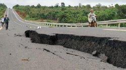 Vụ đường tránh 250 tỷ đồng sụt lún: Không phải do mưa lớn